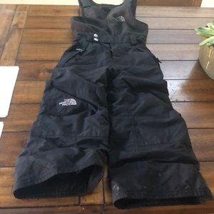 Boys North Face bib ski/winter pants